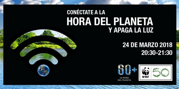 La Comunidad de Madrid se suma a la Hora del Planeta para visibilizar la lucha contra el cambio climático