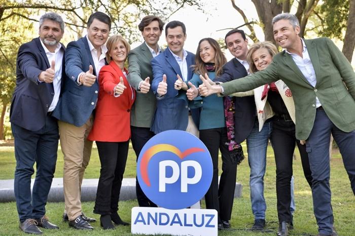 El PP-A presenta a los candidatos número uno al Congreso por cada provincia
