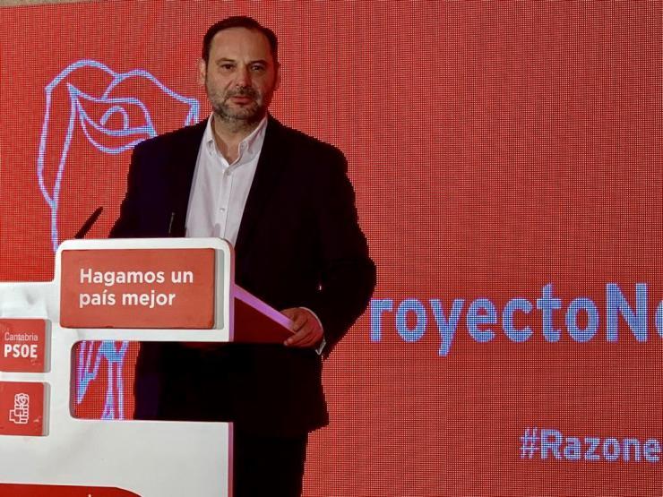 José Luis Ábalos: El proyecto político del PP está