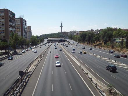 Reducida la velocidad máxima a 70 km/h en la M-30 y accesos