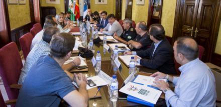 La Junta Local de Seguridad de Huelva prepara el dispositivo especial para la Magna rociera