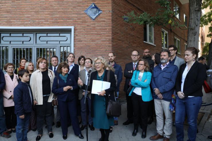 Madrid recuerda a Pedro Antonio Blanco García, asesinado por ETA en 2000