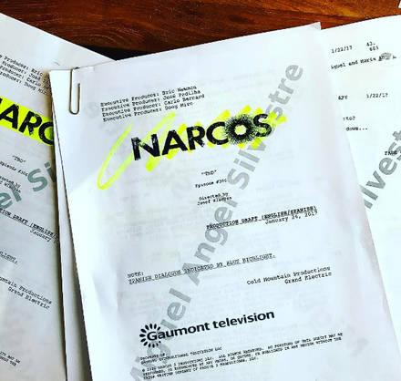 Miguel Ángel Silvestre se prepara para 'Narcos'