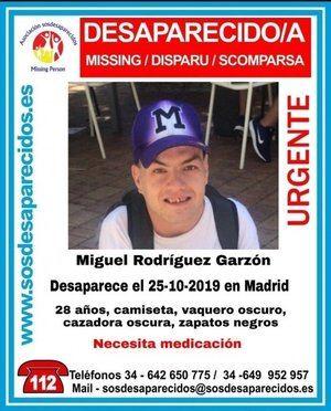 Hallado el cuerpo sin vida del voluntario de Protección Civil desaparecido en Madrid