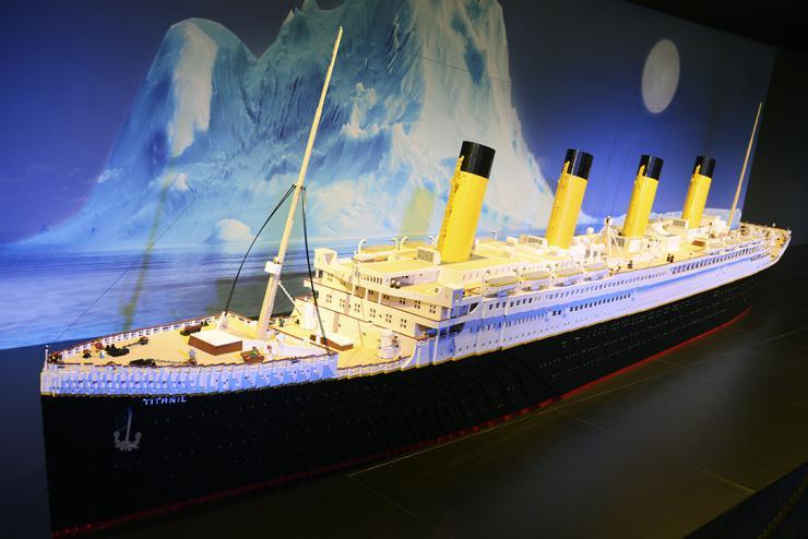 La exposición 'Travelling Bricks' en el Museu de les Ciències llega a su recta final