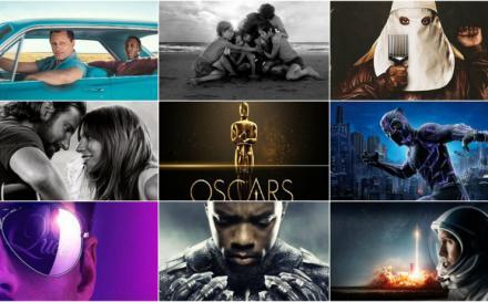 Lista completa de nominados a los Oscar 2019
