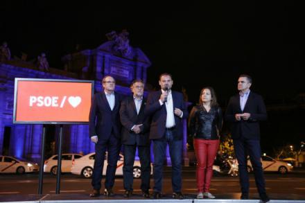 Rubalcaba muy presente en el arranque de campaña del PSOE