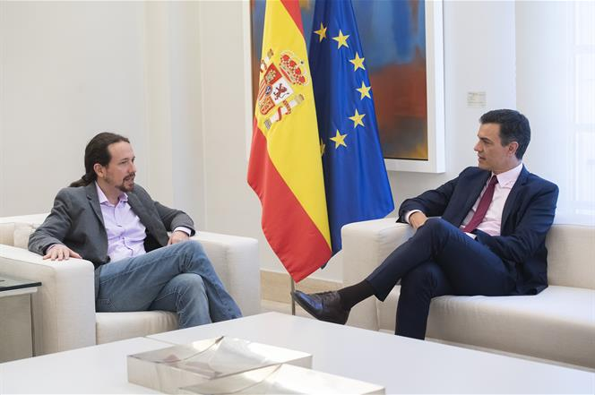 Pablo Iglesias no cede ante la resiliencia de Pedro Sánchez