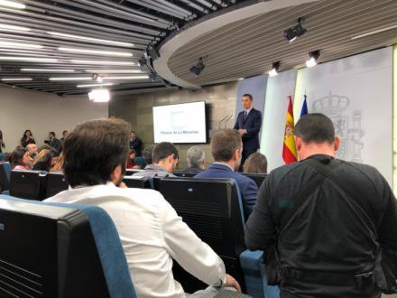 Pedro Sánchez cumple finalmente su palabra y convoca elecciones generales