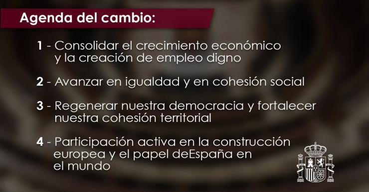 Pedro Sánchez desvela sus planes hasta el final de la legislatura