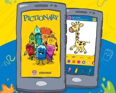 Tiembla Preguntados… Pictionary llega a los móviles