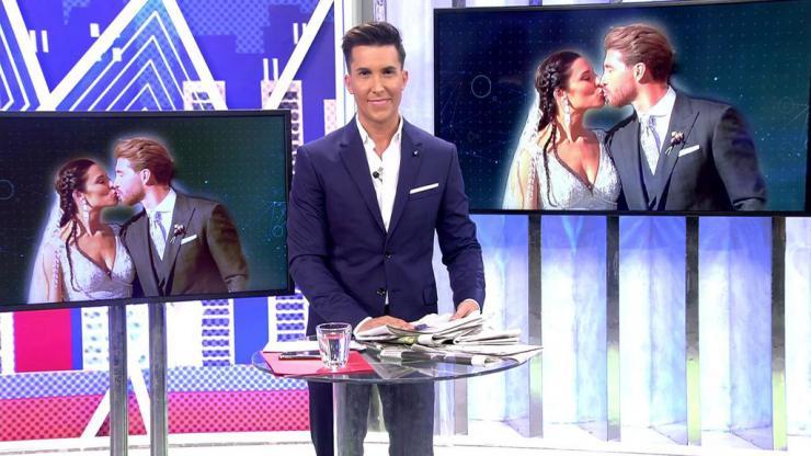 La boda de Sergio Ramos y Pilar Rubio dispara a 'Viva la vida' (19,1%) y 'Sábado deluxe' (18,3%)