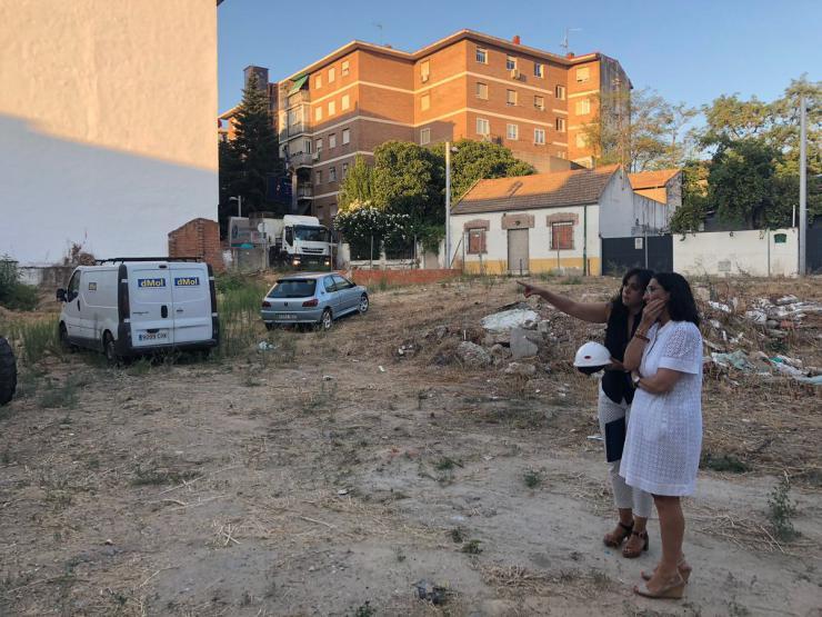 Pozuelo busca reforzar el comercio de la zona afectada por la explosión del edificio de la calle Benigno Granizo