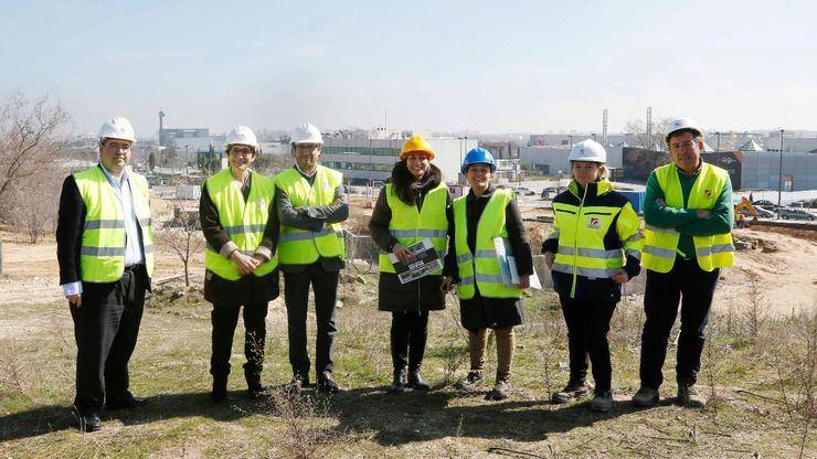 Más de 2.100 personas han reciclado en el nuevo Punto Limpio de Ciudad de la Imagen en su primer medio año