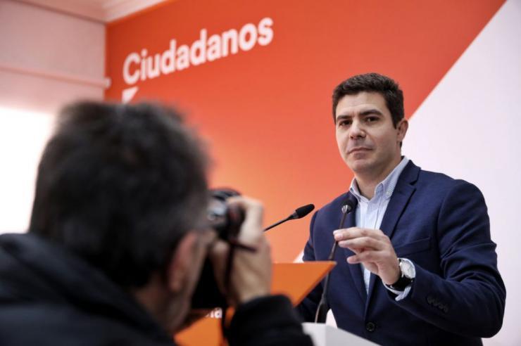 """Sergio Romero: """"Cs impulsará la comisión de investigación de las tarjetas de la FAFFE y la oficina antifraude en los próximos días"""""""