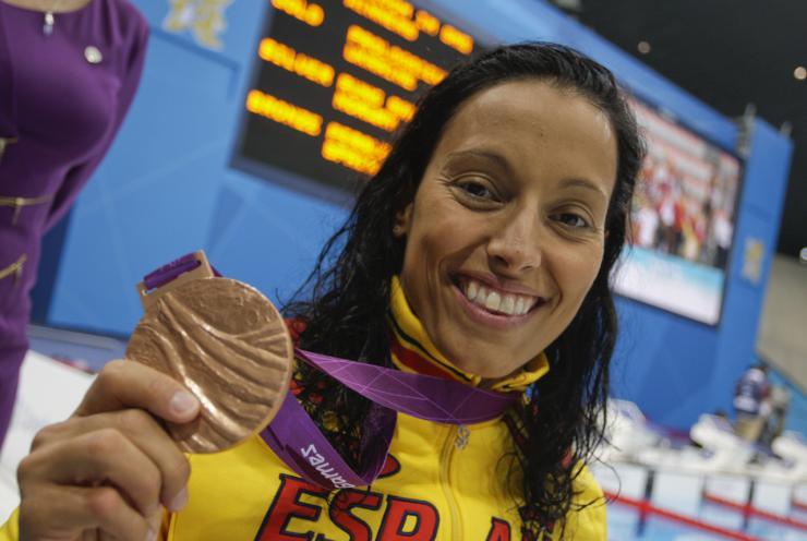 Teresa Perales recibe el Premio Infanta Sofía del deporte