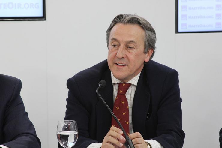 El Supremo tumba la querella de IU y Podemos contra el eurodiputado de Vox Hermann Tertsch