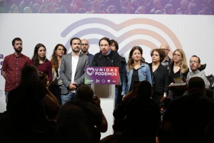 Unidas Podemos se deja 29 escaños