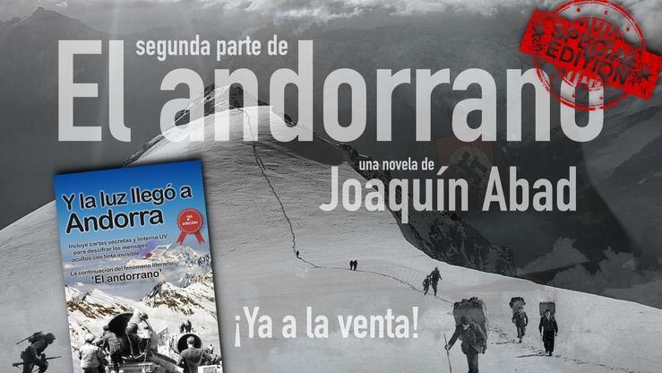 Joaquín Abad sorprende con la reedición de 'Y la luz llegó a Andorra': Cartas, mensajes ocultos y una linterna para descifrarlos