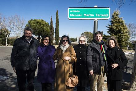 Pozuelo dedica una de sus principales glorietas de acceso al periodista Manuel Martin Ferrand