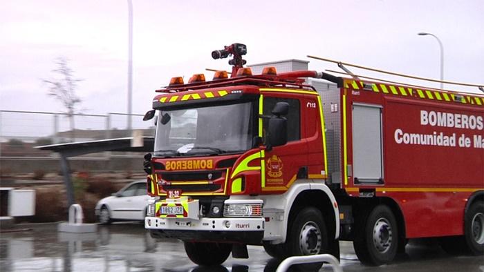 El número de intervenciones de los bomberos de la Comunidad de Madrid por incendios en 2018 descendió un 15,8 %