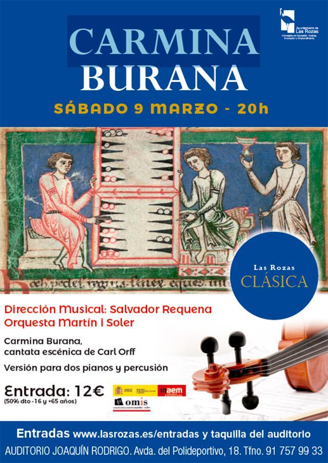 "Las Rozas Clásica ofrece este sábado ""Carmina Burana"""