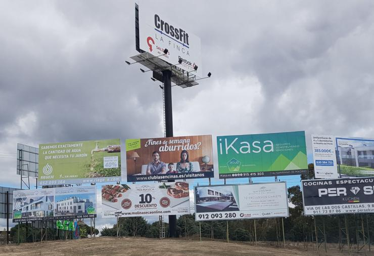 Ciudadanos (Cs) Pozuelo propone redactar una nueva ordenanza de publicidad exterior