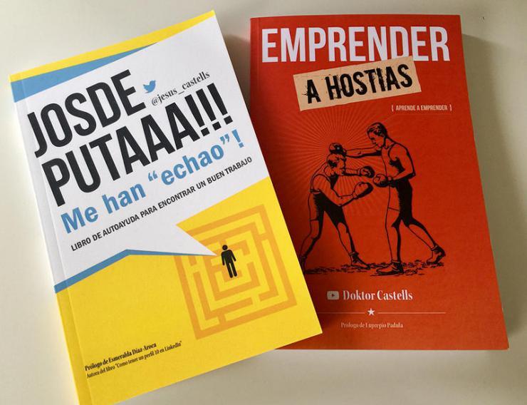 Presentación del libro 'Emprender a hostias', de Jesús Castells, en Pozuelo de Alarcón