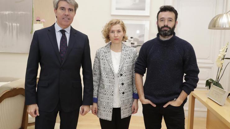 Garrido recibe a Rodrigo Sorogoyen, candidato a los Oscar por un corto apoyado por la Comunidad