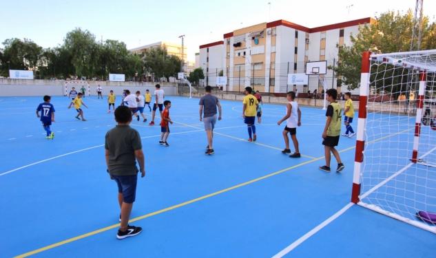 Los proyectos Edusi que tiene en marcha el Ayuntamiento de Huelva para la ciudad superan ya una inversión de 7 millones de euros