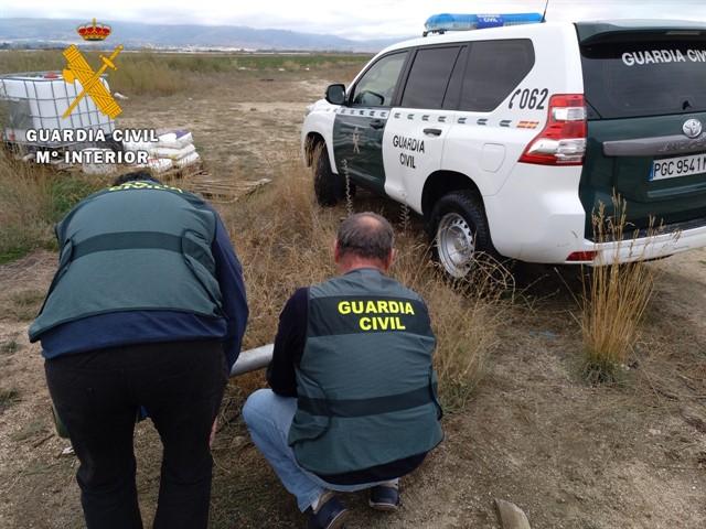 Detenidos por estafar a una treintena de agricultores con falsas averías en los sistemas de riego en Ávila