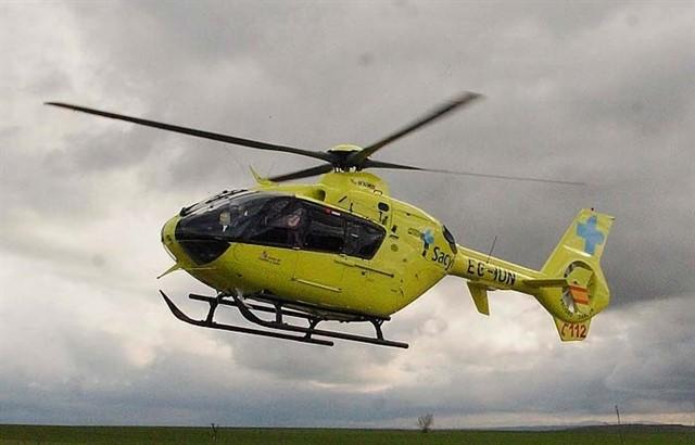Herido el piloto de un parapente tras sufrir una caída en el despegue desde Peña Negra (Ávila) b
