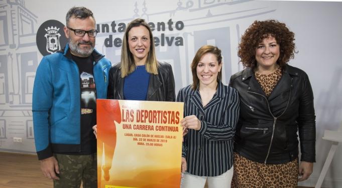 La Casa Colón acoge la charla coloquio 'Las Deportistas. Una carrera continua'