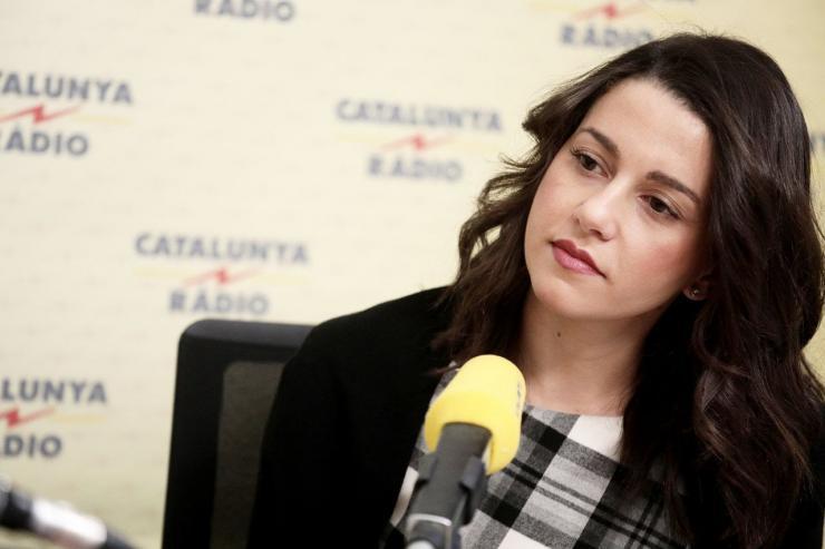 Inés Arrimadas: 'El futuro de 47 millones de españoles no puede estar en manos de partidos que quieren romper España'