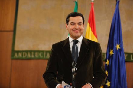 """Moreno advierte de que """"Andalucía no va a callar si hay un trato de favor a otro territorio"""""""