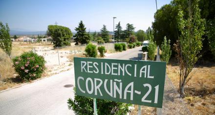Adjudicadas las obras de embellecimiento de la Urbanización Coruña 21 y Cruz Verde en las Rozas