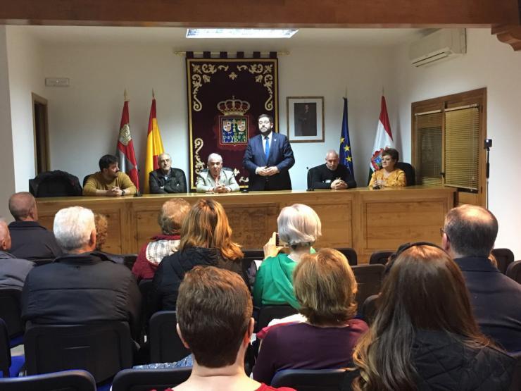 Pedro Bernardo estrena salón de plenos en la Casa Consistorial del municipio