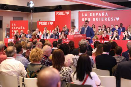 """Sánchez: """"Con un gobierno socialista no se va a producir la independencia de Cataluña"""""""