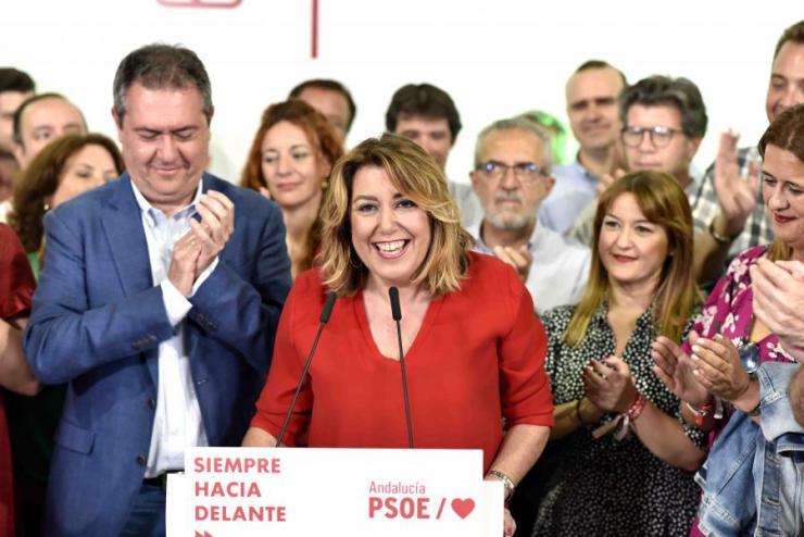 El PSOE demuestra su fuerza en Andalucía