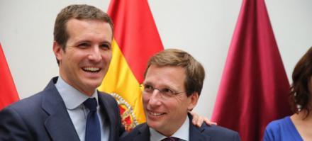 """Casado: """"El cambio llegará a España cuando se celebren las próximas elecciones"""""""
