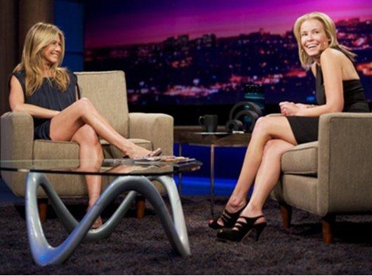Jennifer Aniston enamorada de Chelsea Handler